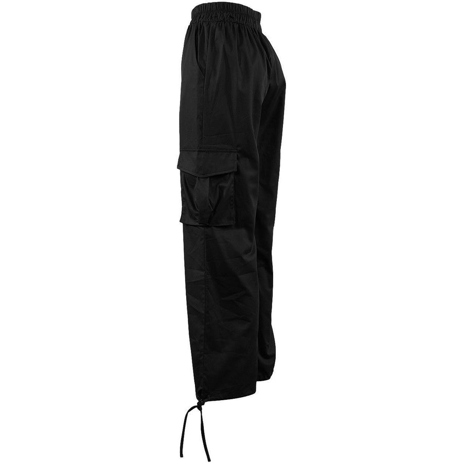 Rivera Cargo Trousers Black