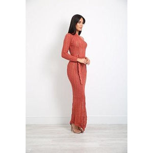 Rosa Dress Copper