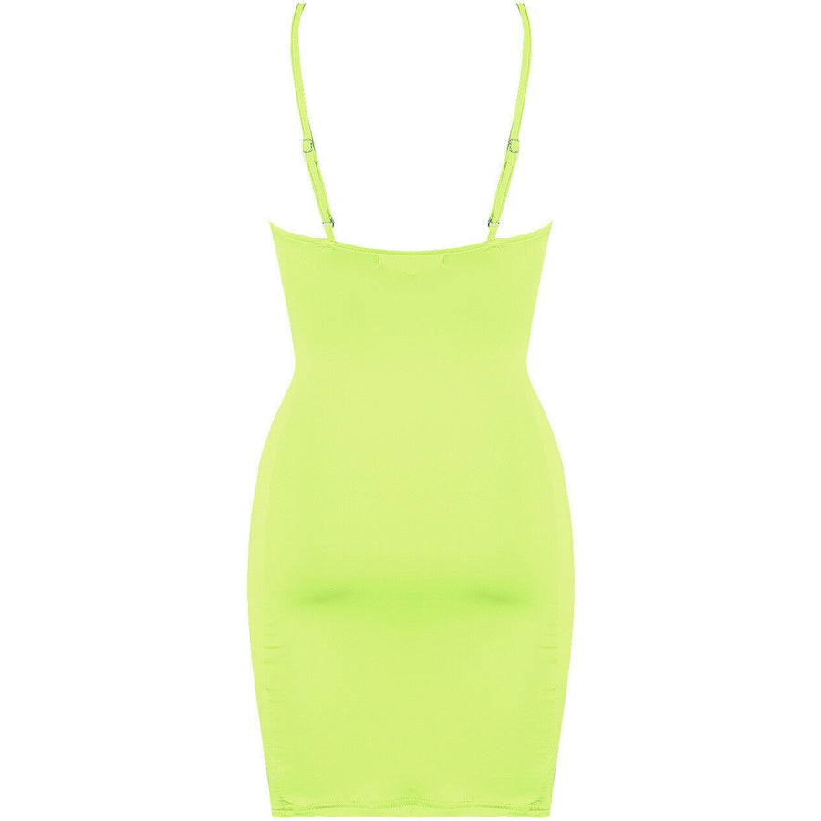 Shamaiza Mini Dress Neon