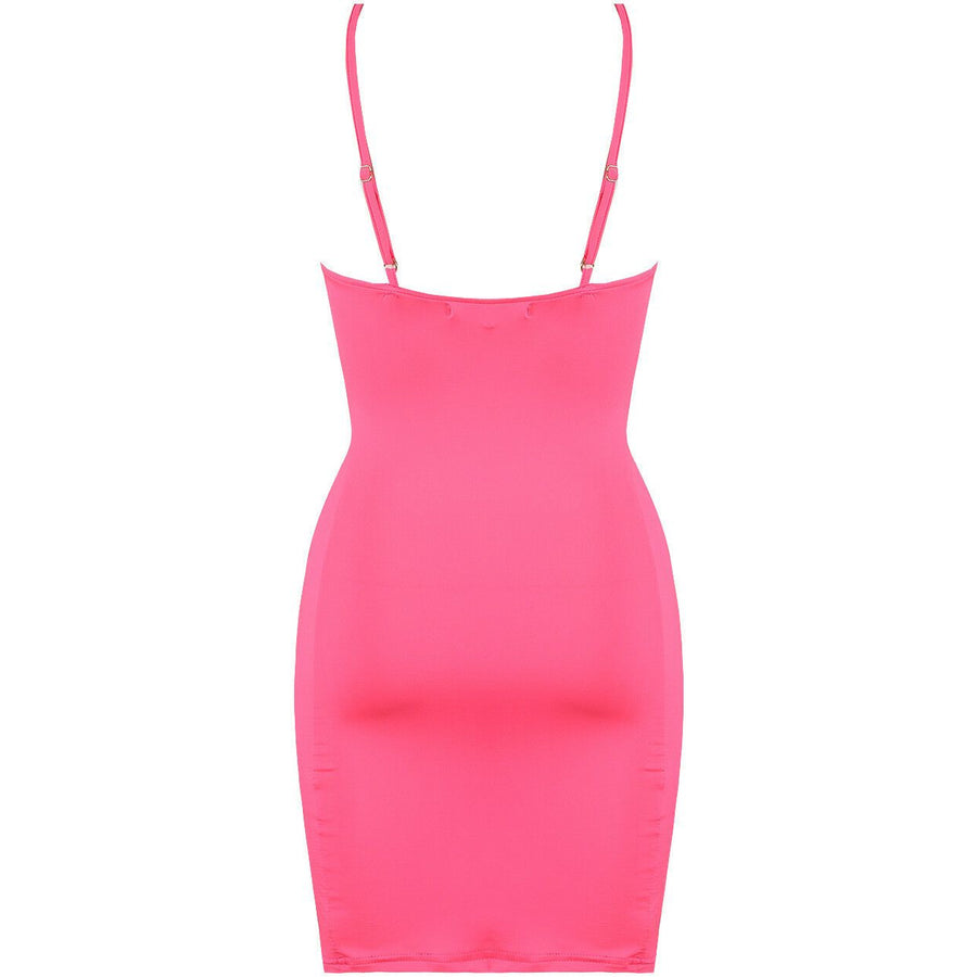 Shamaiza Mini Dress Fuchsia