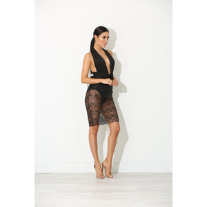 Tessa Black Multiway Lace Dress