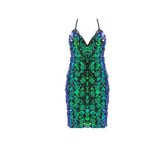 Tessi Sequin Dress