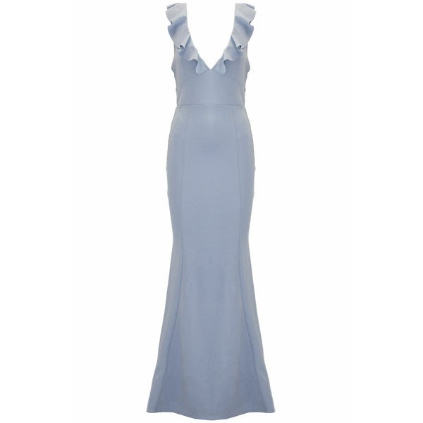 Akera Maxi Dress Blush Blue