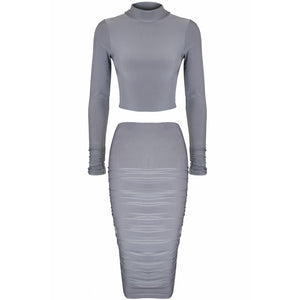 Deta Two Piece Grey