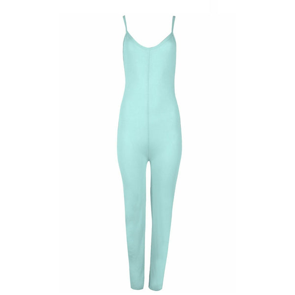 Fifi Lounge Jumpsuit Blue