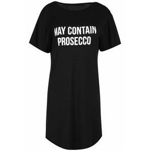 Prosecco Oversized T-shirt Black