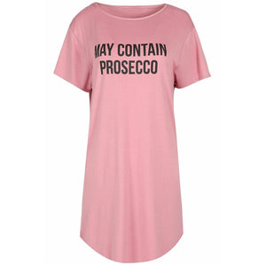Prosecco Oversized T-shirt Pink