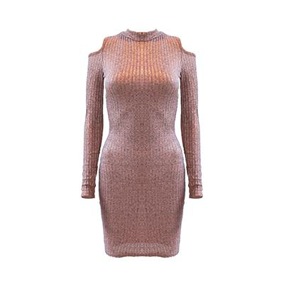 Tayla Ribbed Bodycon Dress