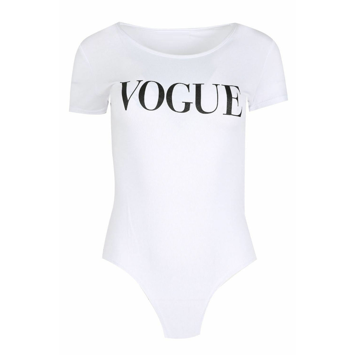 Vogue Bodysuit White