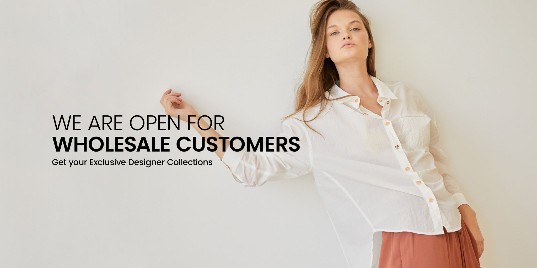 B2B Wholesale order is available for designer collections at New Designers Space