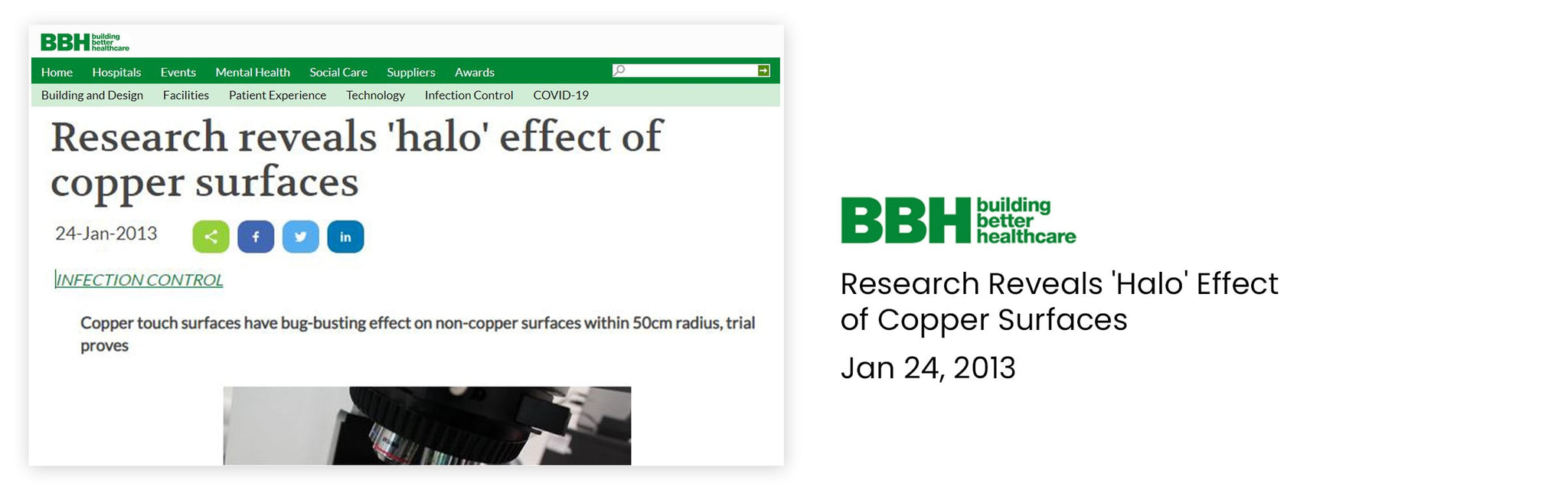 Research reveals 'halo' effect of copper surfaces_VForce Collection by New Designers Space