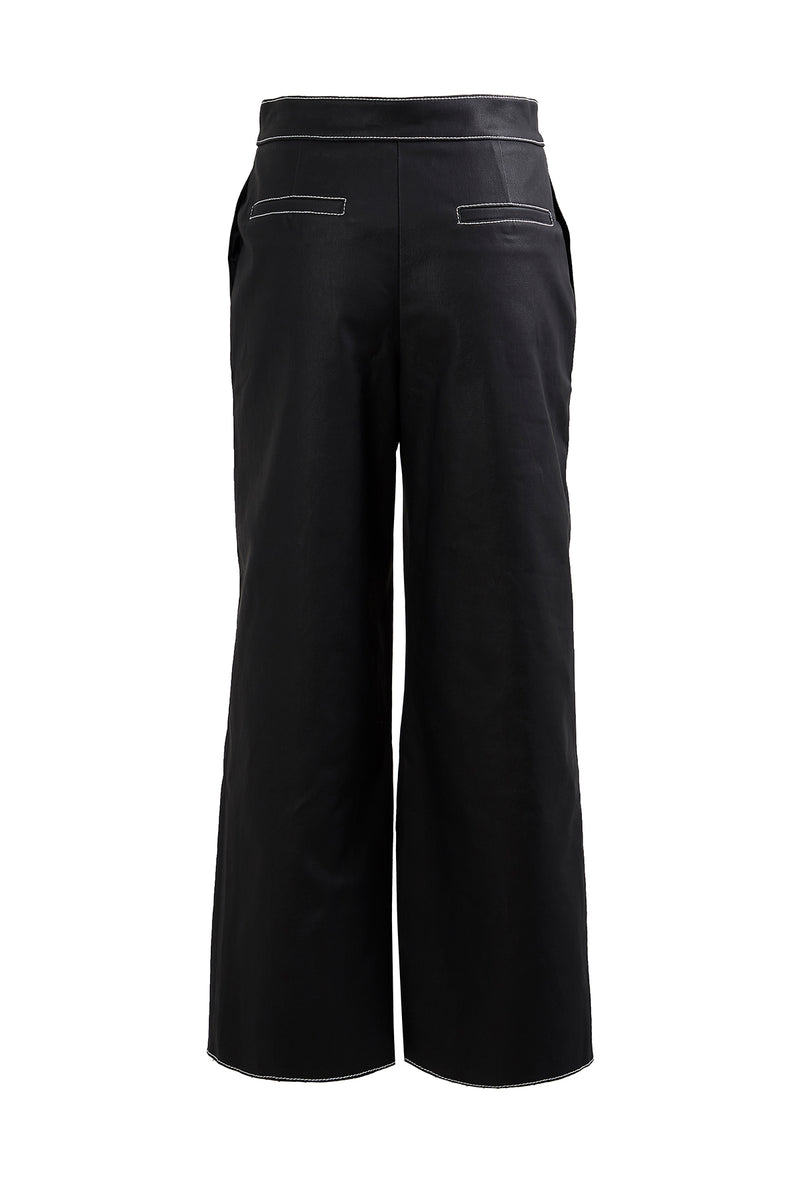 Stitch Point Coated Pants