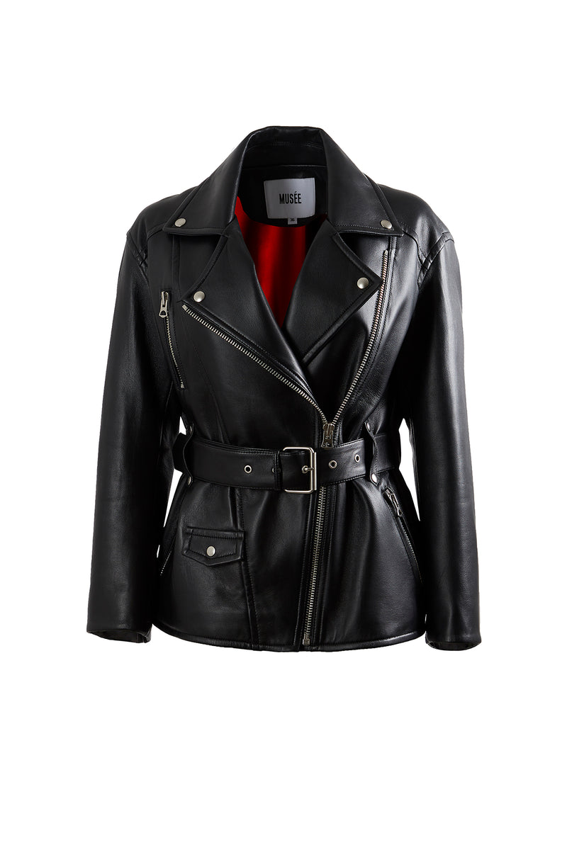 Matisse Leather Rider Jacket