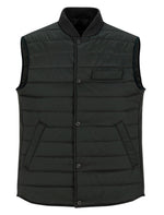 Load image into Gallery viewer, Dark Green Puffer Vest