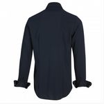 Load image into Gallery viewer, Luxe Jersey Shirt in Navy