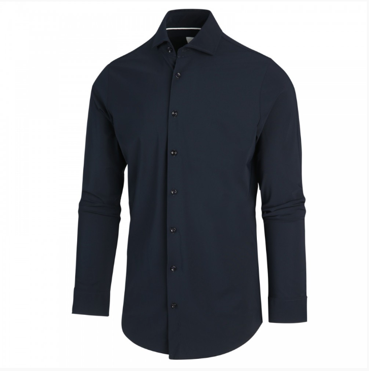 Luxe Jersey Shirt in Navy