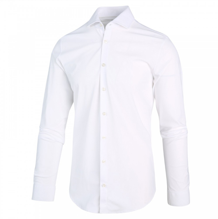 Luxe Jersey Shirt in White