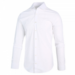 Load image into Gallery viewer, Luxe Jersey Shirt in White
