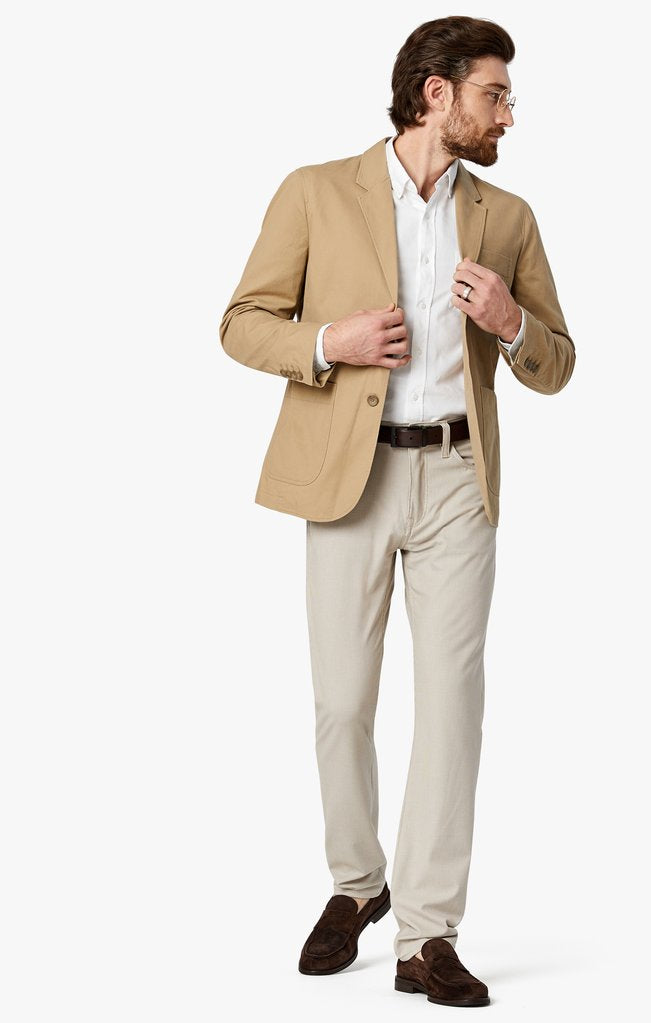 Light cream coloured slim fit mens pants available in all sizes