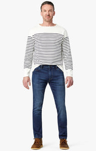 classic blue demin jeans with stress marks available in all size for men