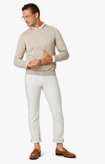 Load image into Gallery viewer, pearl white slim straight pants available in all sizes for men