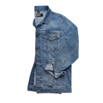 Load image into Gallery viewer, Travis Mid Comfort Denim Jacket