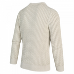 Load image into Gallery viewer, Fisherman Pullover in Silver Birch