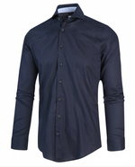 Load image into Gallery viewer, Navy Print Shirt