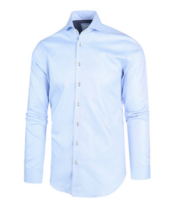 Twill Semi Spread Perfect Fit Shirt