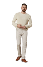 Load image into Gallery viewer, Cool Slim Fit Beige Cashmere Trouser