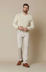 Load image into Gallery viewer, Slim fit beige mens pants available in all sizes