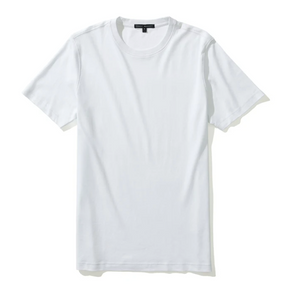 Georgia SS White Crewneck T-Shirt