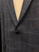 Load image into Gallery viewer, Eric Modern Fit Blue Check Removable Liner Sport Coat