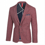 Load image into Gallery viewer, Burgundy Textured Sport Coat