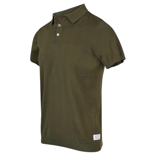 Army Cotton Knit Polo