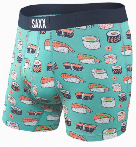 ULTRA Boxer Brief Green Sushi