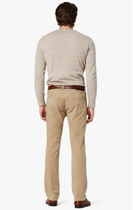 Courage Slim-Straight Fit Sand Twill Trouser
