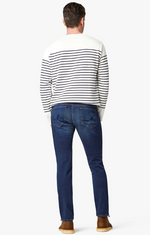 Load image into Gallery viewer, Cool Slim Fit Dark Sporty Denim
