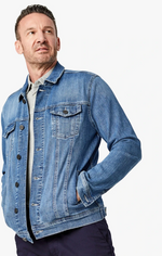 Load image into Gallery viewer, american demin blue jacket available in all sizes for men