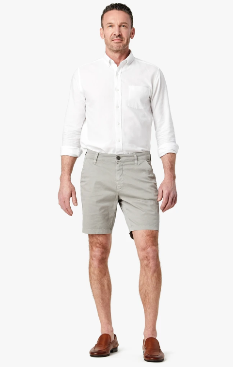 34 Heritage Arizona Slim Shorts in Griffin Washed Twill
