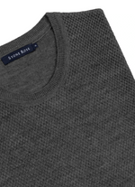 Load image into Gallery viewer, Charcoal Honeycomb Sweater
