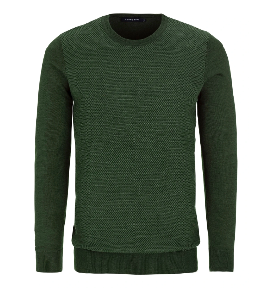 Olive Honeycomb Sweater