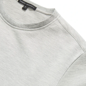 Downton Crewneck Sweatshirt in Light Grey