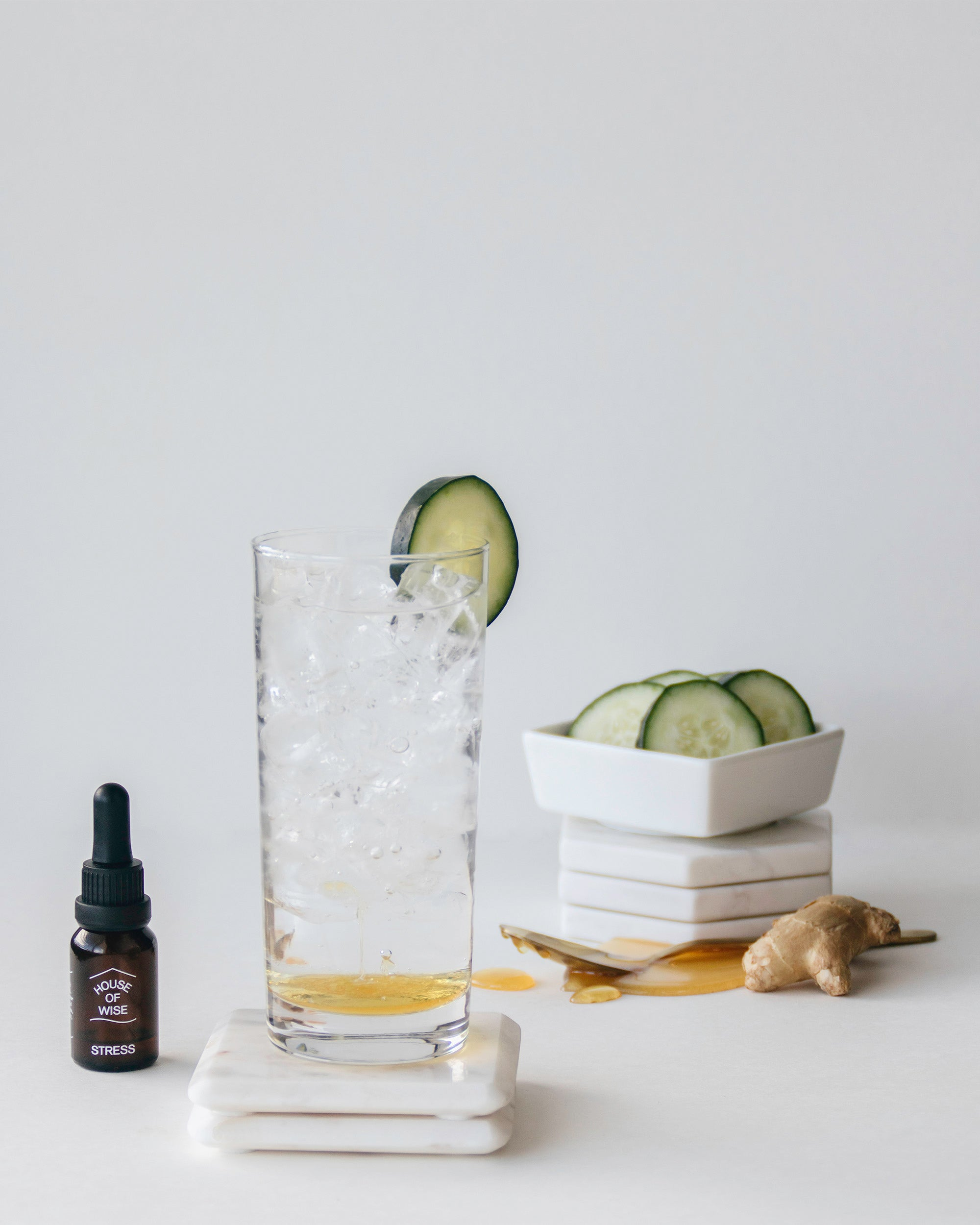 Fresh & Spicy CBD Mocktail by House of Wise