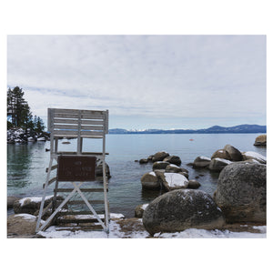 No Lifeguard on Duty - Lake Tahoe