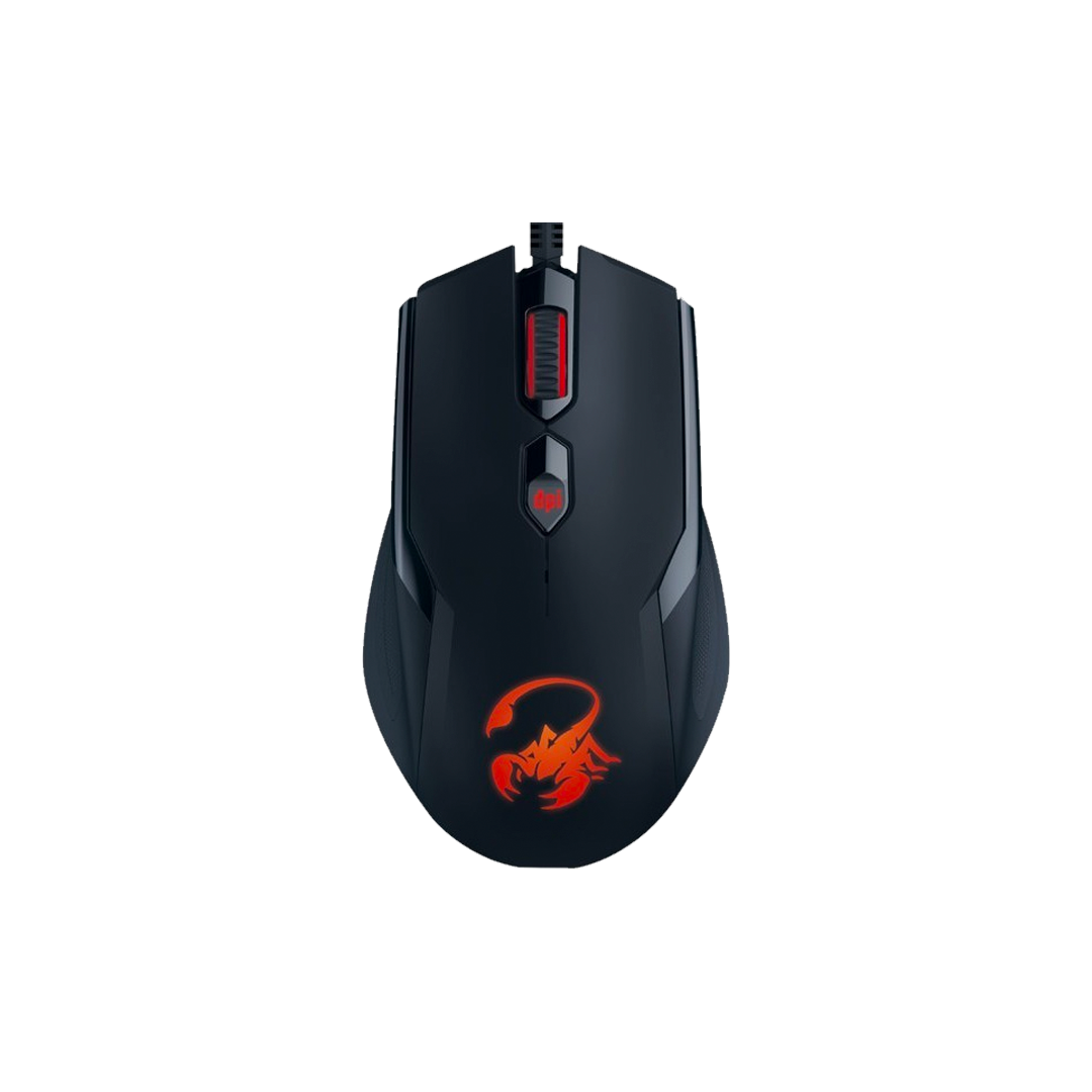 Mouse Genius Gamer Ammox X1-400 Series GX USB, Negro