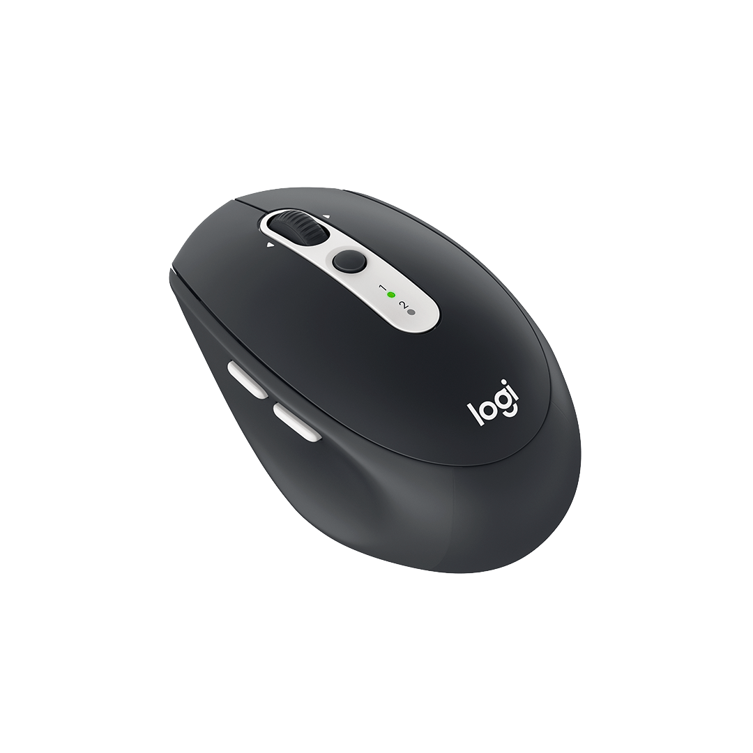 Mouse Logitech M585, Multitarea, Inalámbrico, Bluetooth, 1000DPI, Grafito