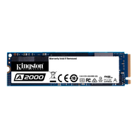Disco SSD Kingston PCIe NVMe A2000 1TB M.2