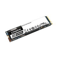 Disco SSD Kingston PCIe NVMe KC2500 2TB M.2