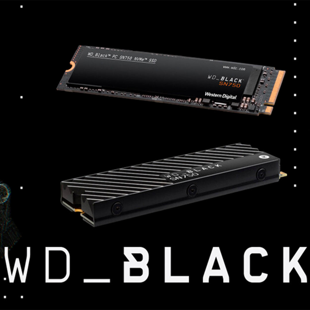 Disco SSD Western Digital Black SN750 NVMe 500GB M.2 PCIe 3.0